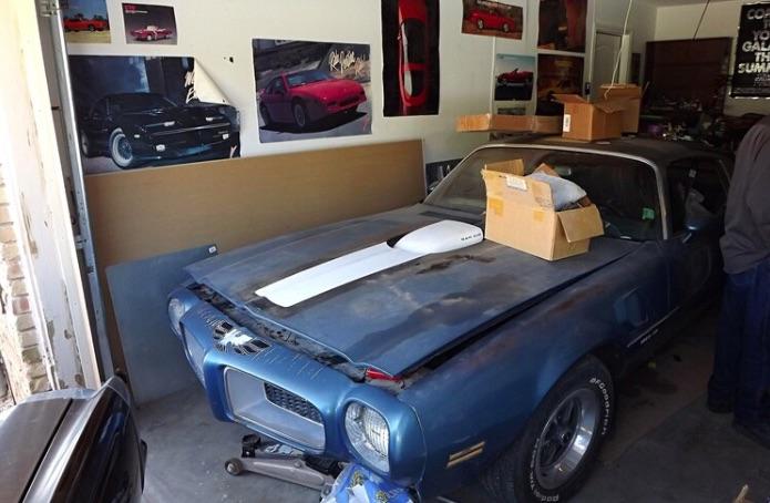 Un raro Pontiac Trans Am de 1972 fue descubierto sin ningún rasguño en El Paso
