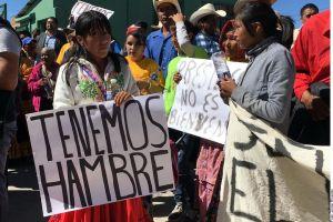 Lamenta AMLO extrema pobreza de rarámuris, comunidad exige apoyos