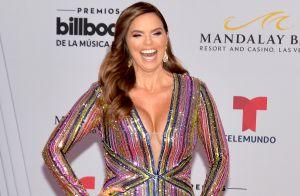 El sensual vestido de cuero de Rashel Díaz