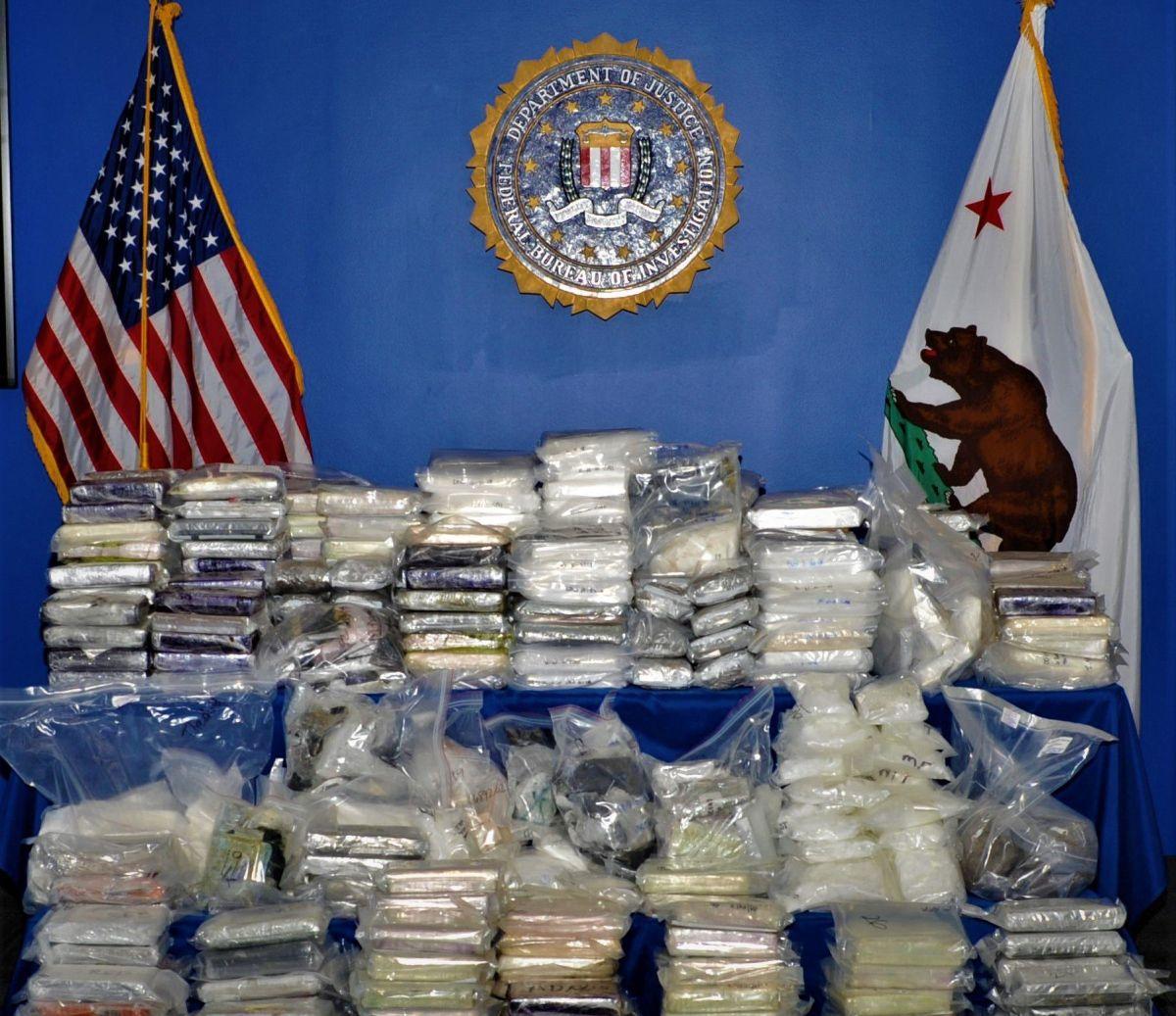 Decenas de arrestados por red de narcotráfico que cubría un corredor entre México, California y Canadá