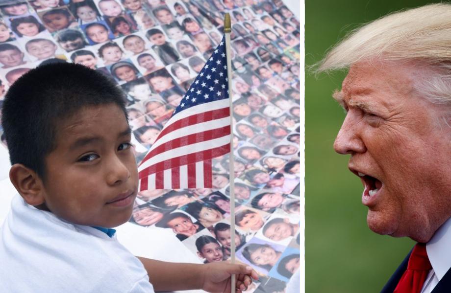 Trump retrocede: Los niños inmigrantes se quedan. Pero no todos