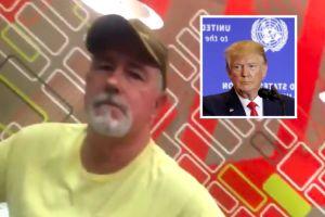 VIDEO VIRAL: Hombre blanco invoca a Trump y ataca a joven latina por hablar español