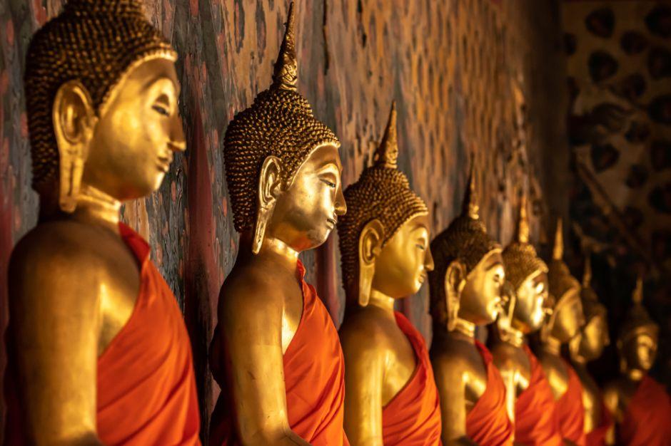 5 estatuas de Buda tailandés para tener suerte y paz en tu hogar