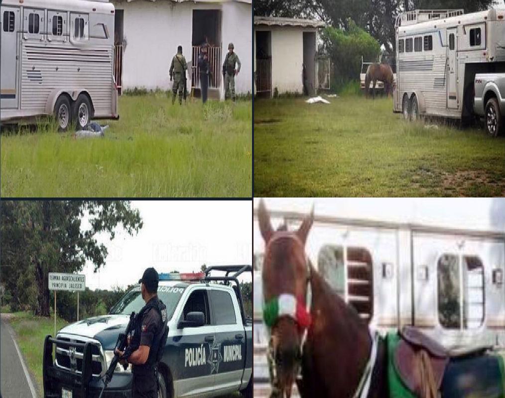 Sicarios matan a cuatro personas y un caballo durante carrera en territorio de El Mencho