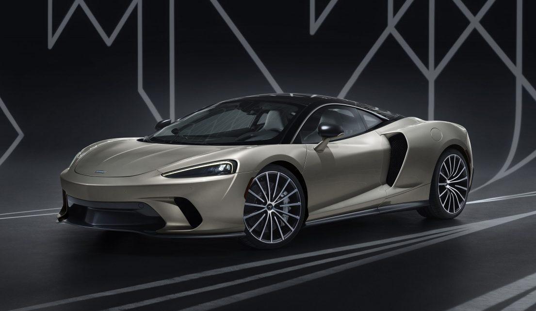 McLaren GT 2019.