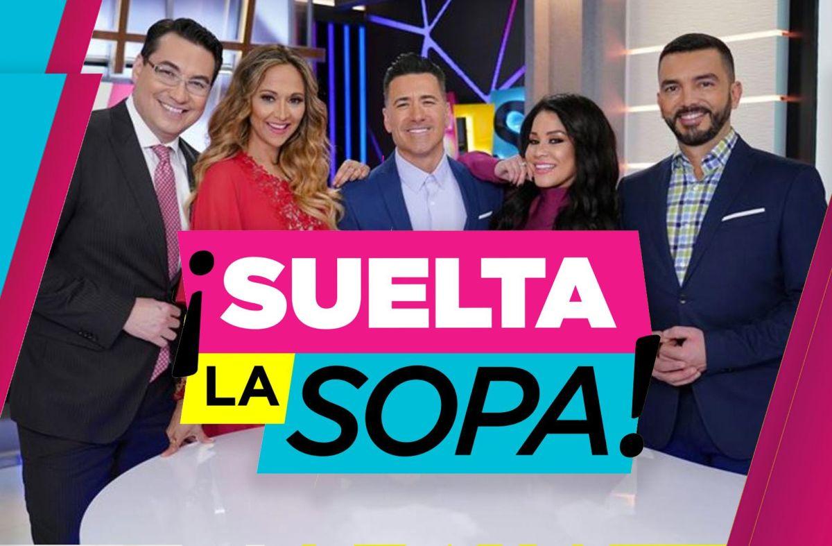 """""""Suelta la Sopa"""" de Telemundo."""