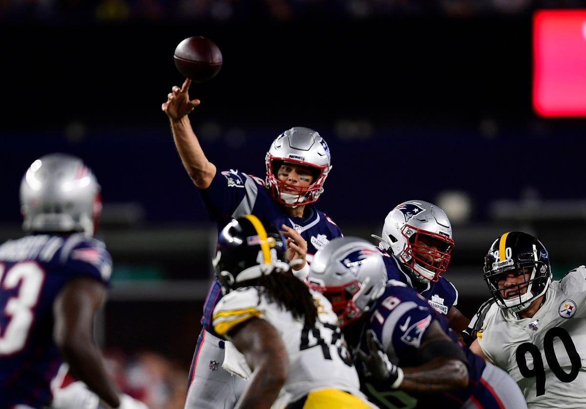 Golpe de campeón: Tom Brady y los Patriots destrozaron a los Steelers… sin Antonio Brown