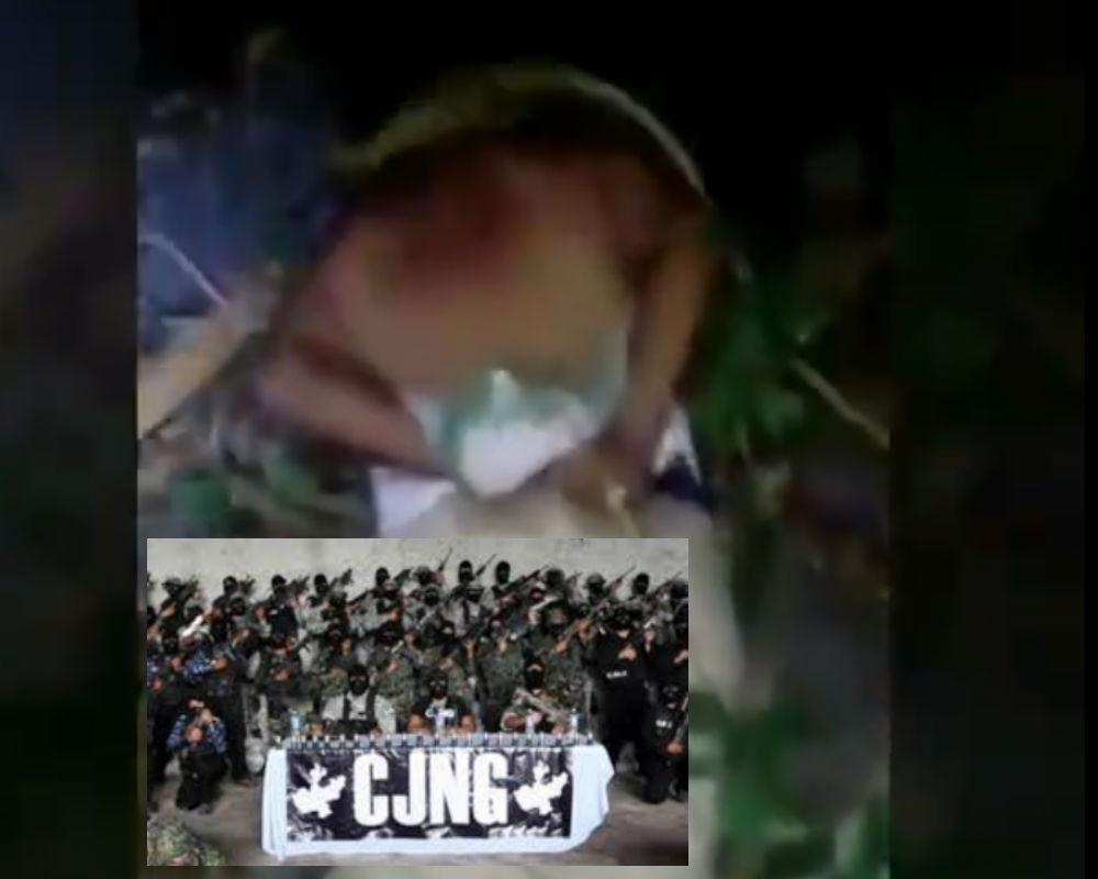 VIDEO: Comandante Joker del CJNG tortura sin piedad a uno del Cártel de Los Viagras