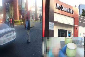 VIDEO: Sicarios entraron así a matar a sujeto dentro de un McDonald's en México