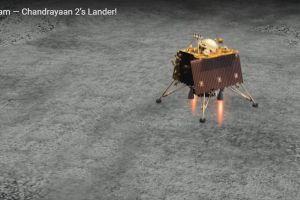 Falla el intento de la India de aterrizar un módulo espacial en el Polo Sur de la Luna