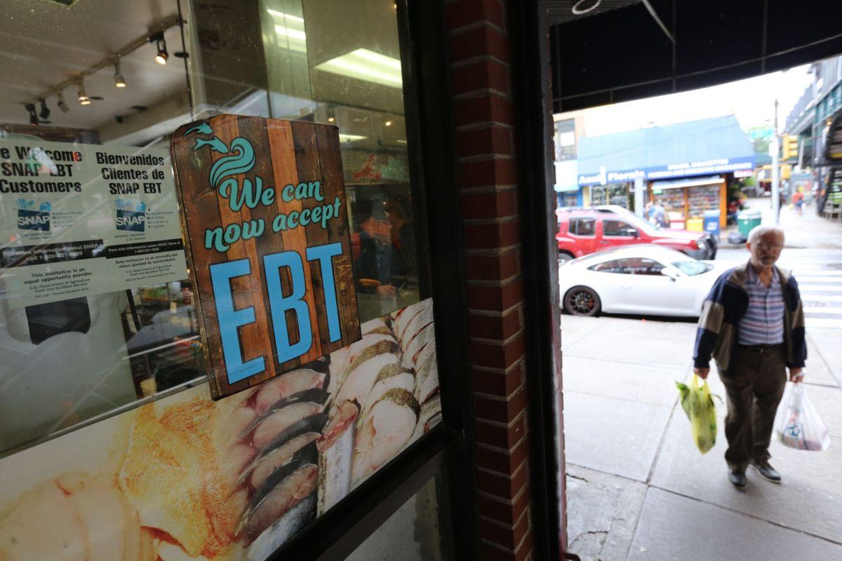 Negocios que reciben los cupones de alimentos en Nueva York.