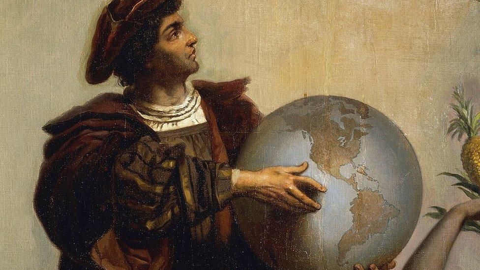 Cristóbal Colón dio nombre a muchos lugares de las Américas.