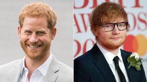 """El """"mal"""" que comparten Ed Sheeran y el príncipe Harry"""