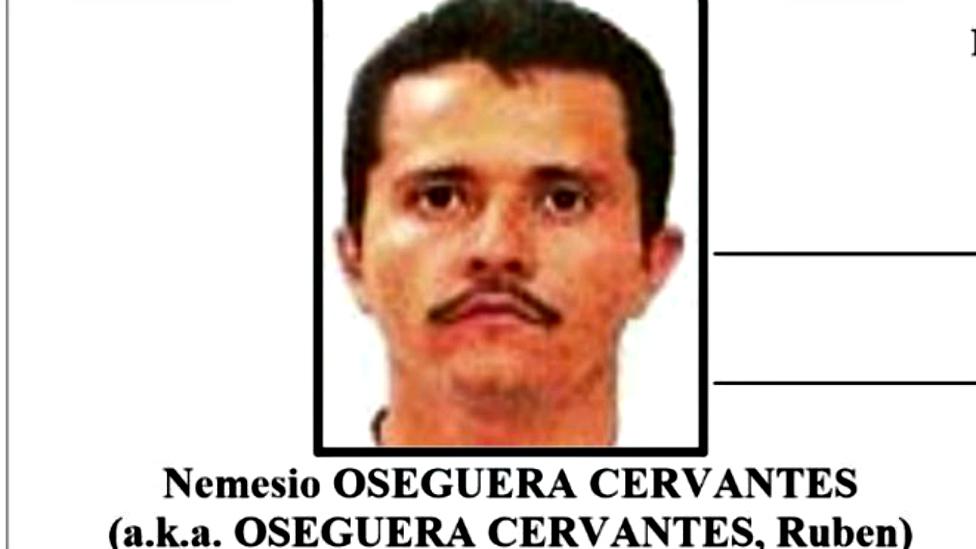 "Nemesio Oseguera Cervantes, ""El Mencho"", es el líder del CJNG."