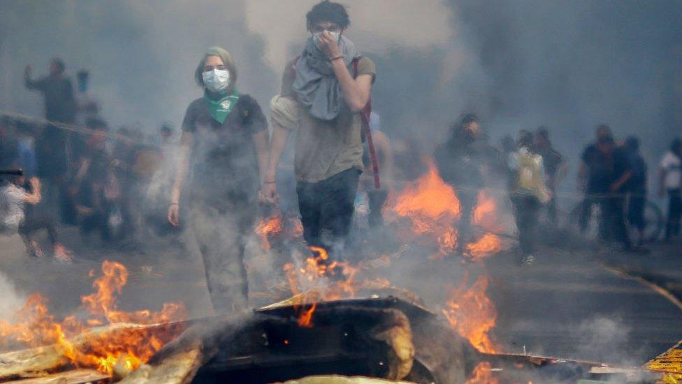Protestas en Chile: 4 claves para entender la furia y el estallido social en el país sudamericano