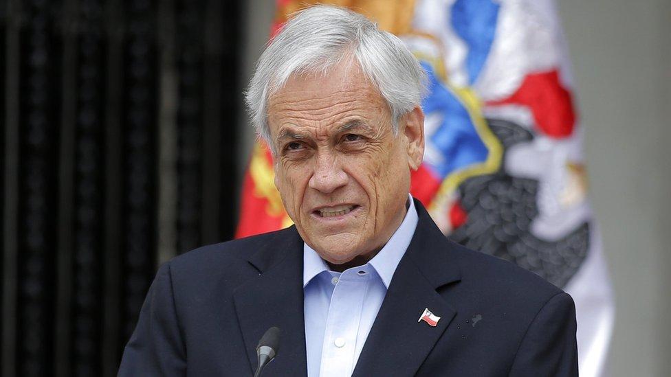 Piñera anuncia que su país no acogerá la reunión de la APEC ni la Conferencia de Cambio Climático COP-25