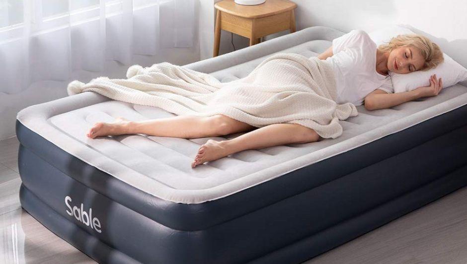 5 colchones inflables super resistentes para las visitas inesperadas en casa