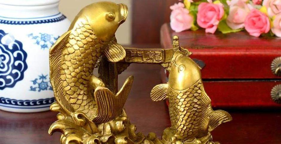 ¿Qué simboliza el pez carpa en el Feng Shui?