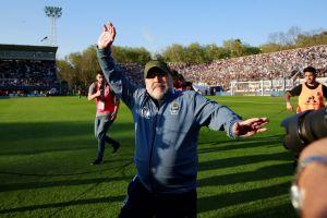 ¡Vaya celebración! Este es el baile de la victoria de Maradona