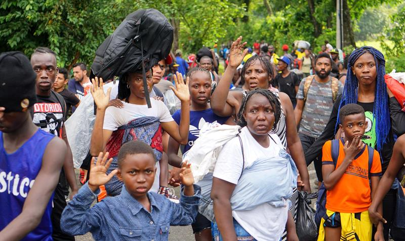 Africanos se están yendo traficados de Tapachula a Tijuana