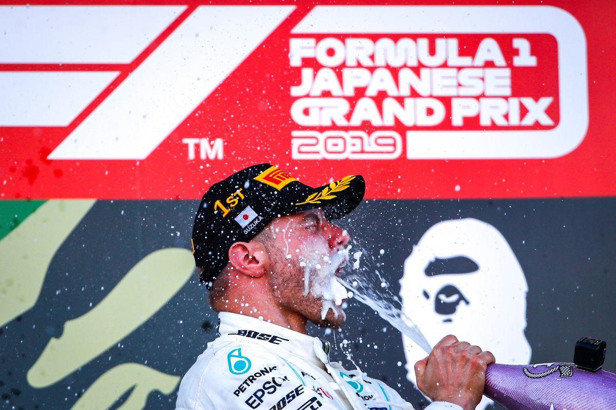 Mercedes aseguró su sexto título de Constructores de forma consecutiva.