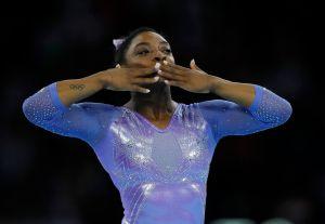 Simone Biles es la deportista del año