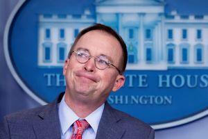 Impeachment: Jefe de gabinete de Trump en el centro de las presiones a Ucrania