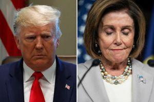 Trump arremete contra Pelosi por 'impeachment' y Twitter sale en defensa de la demócrata