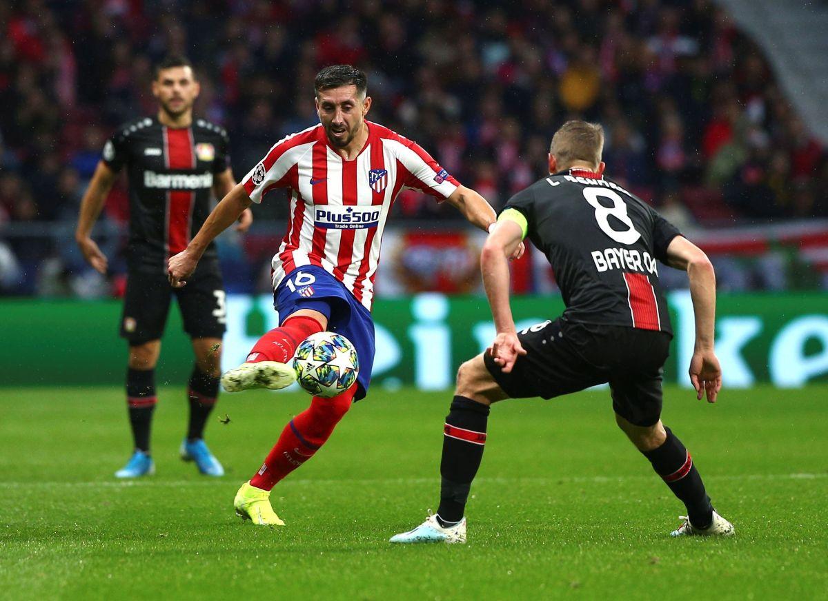 'HH' llega 50 juegos de Champions al ser titular en triunfo del Atleti sobre Leverkusen