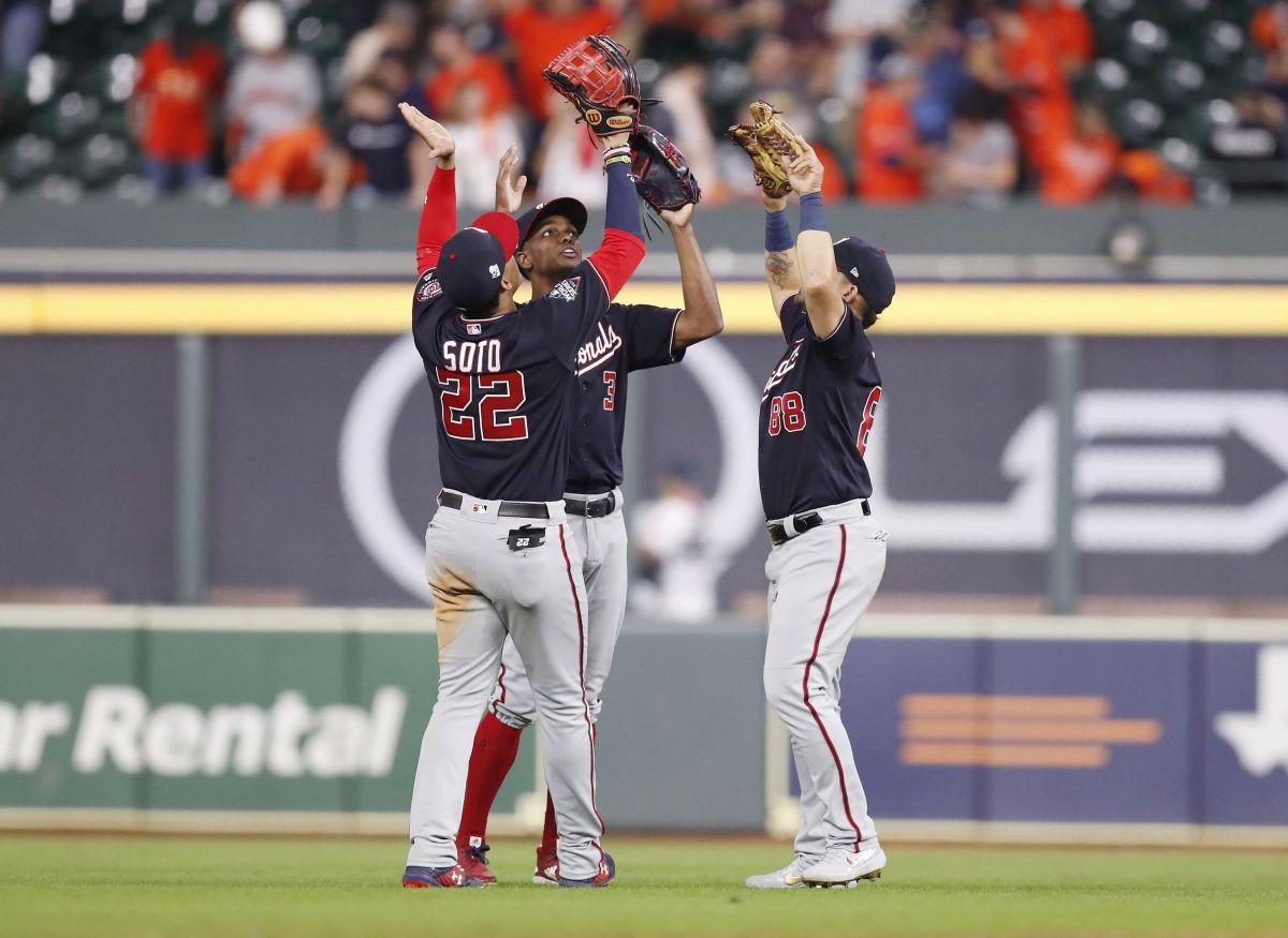 Nationals apalea 12-3 a Astros y da un paso más para coronarse