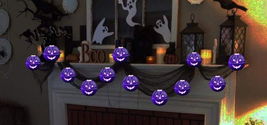 4 sets de luces decorativas para darle un toque de terror a tu casa en Halloween