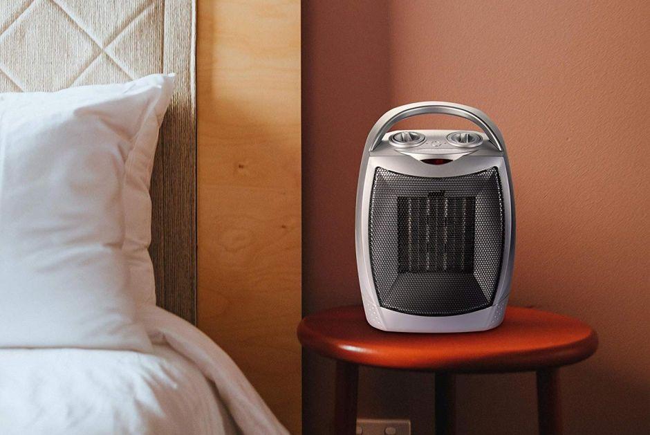 Prepárate para el clima frío a tiempo: 5 calentadores portátiles para usar en la casa