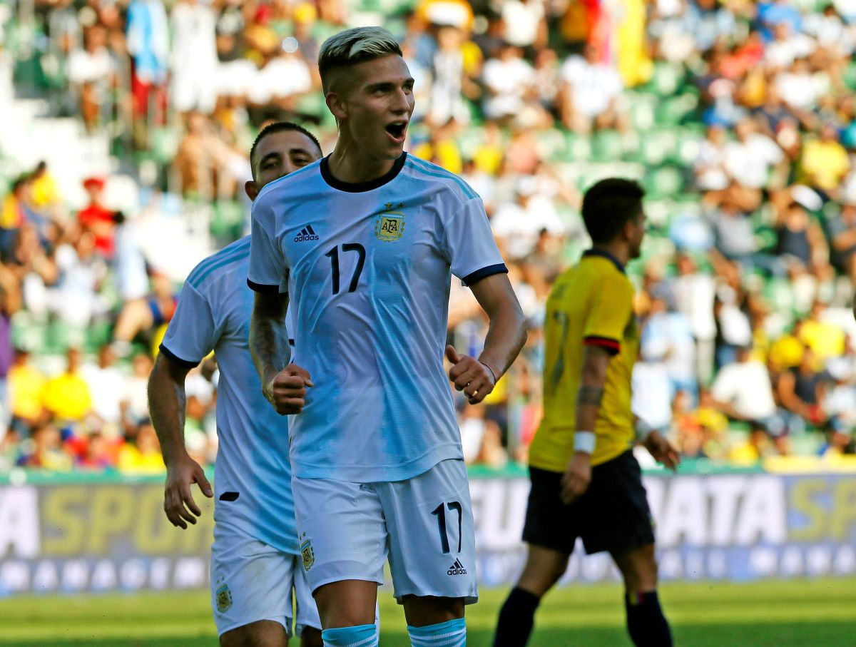 Sin sus estrellas: Argentina le pasó por encima a Ecuador que no se apareció al partido