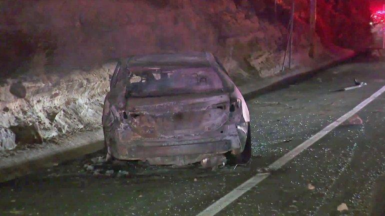 Conductor borracho provoca incendio en Santiago Canyon
