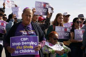 Enfermeras de Los Ángeles exigieron a la Patrulla Fronteriza paso para atender niños detenidos