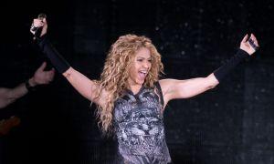 Desde España y junto a sus hijos Shakira festeja el resultado electoral de los Estados Unidos