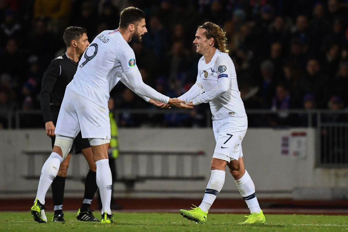Francia con un pie y medio en la Eurocopa