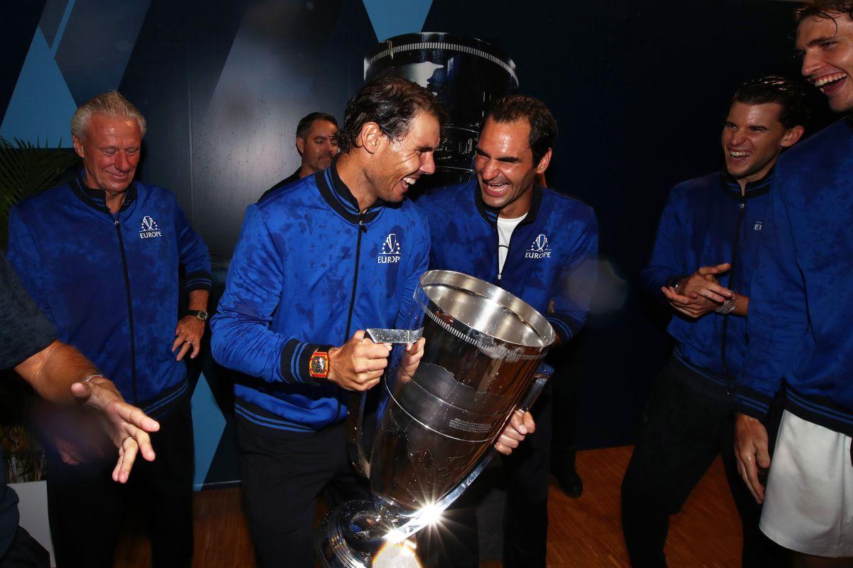 Roger Federer reveló por qué cree que Rafael Nadal no lo invitó a su boda