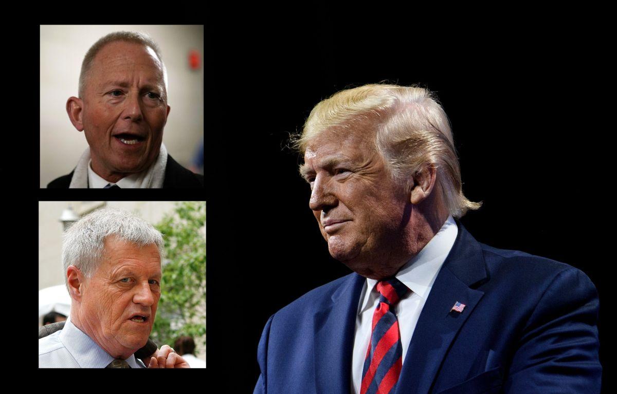Impeachment: Quiénes son los dos representantes demócratas que no quieren destituir a Trump