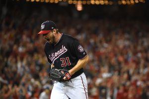 Gran actuación de Max Scherzer pone en ventaja a los Nationals sobre Cardinals