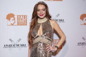 Así lucía Lindsay Lohan antes de que se retirara de los escenarios