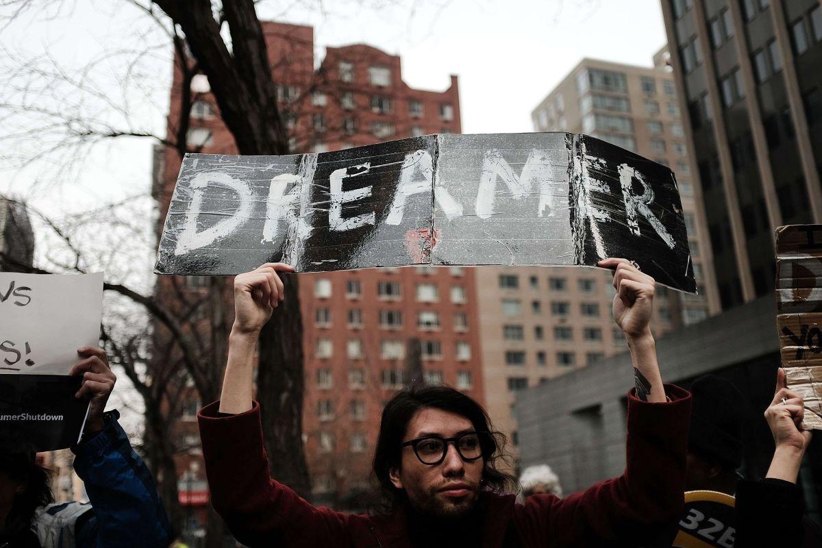 """Los """"dreamers"""" están en el limbo jurídico."""