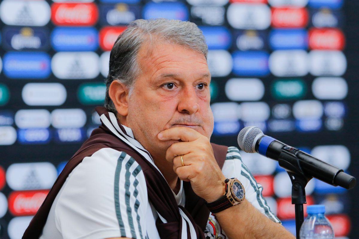 Gerardo Martino, técnico de la Selección Mexicana.