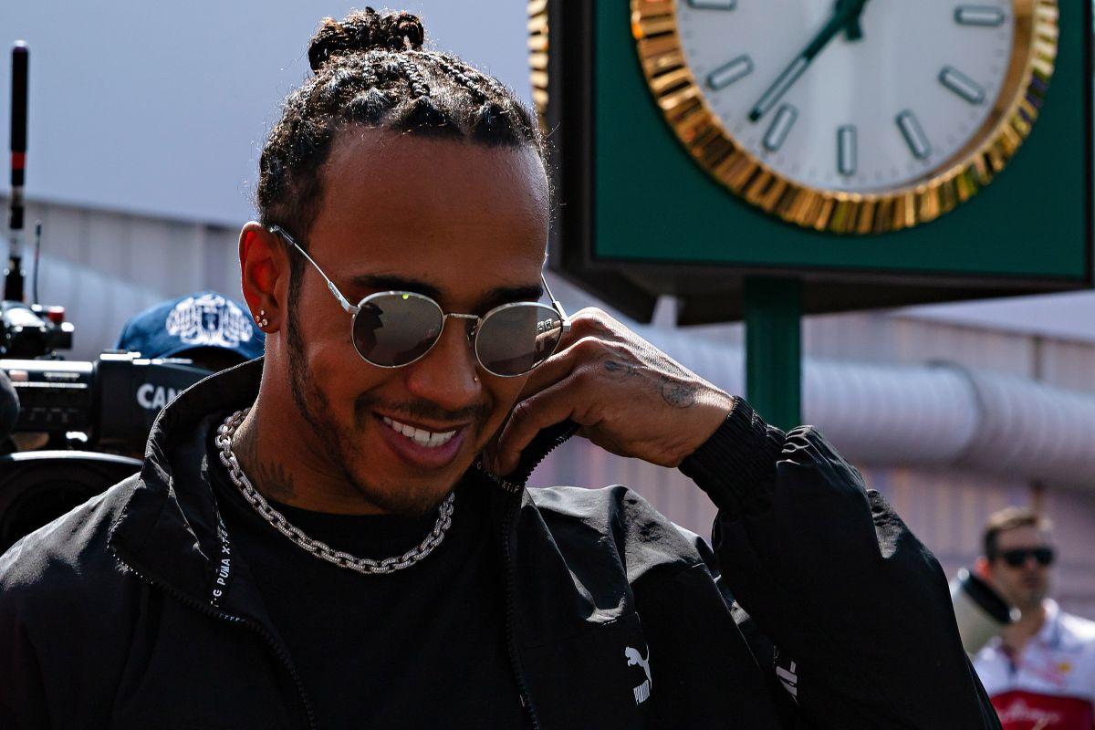 """Lewis Hamilton dijo que no a actuar en """"Top Gun"""""""