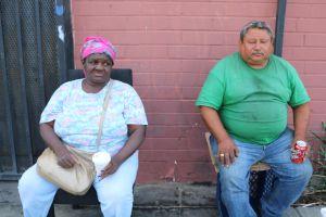 Más adultos mayores latinos viven en las calles de Los Ángeles
