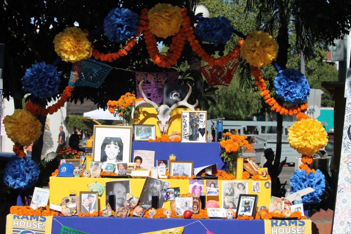 (FOTOS) Altares en Los Ángeles
