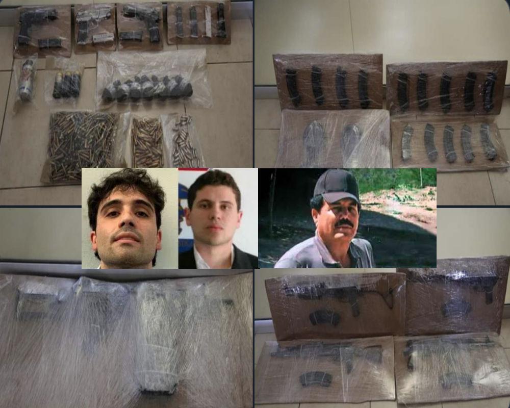 Le decomisan arsenal a ejército del Cártel de Sinaloa, Mayo Zambada y los Chapitos