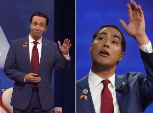 VIDEO: Lin-Manuel Miranda imita al candidato Julián Castro y éste responde