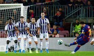 La magia está de regreso: El Barcelona goleó al Valladolid en otra de 'esas' noches de Lio Messi