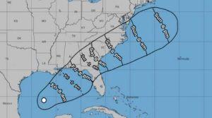 Tormenta en el Golfo de México podría impactar las costas del sur de Estados Unidos